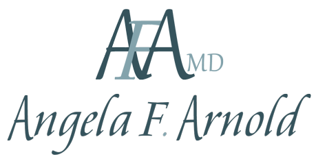 dark green logo for angela f. arnold md atlanta ga womens specialist therapy psychiatry